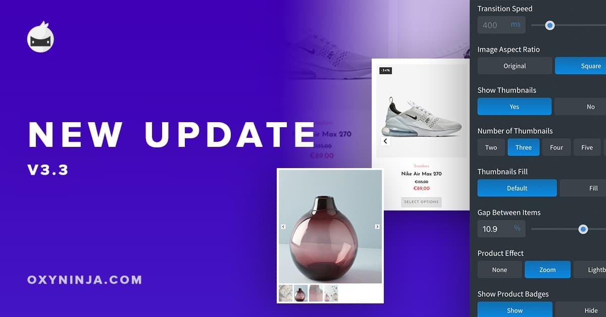 OxyNinja Update 3.3 – Carousel, Improved Class Tools & Framework